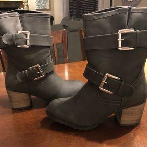 Slate Grey Boots